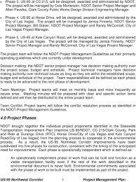 Us 95 Northwest Corridor Project Management Plan Pdf