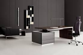 cool gray office furniture. Contemporary Office Desks Cool Also Wooden Regarding Modern Furniture Desk Plans 19 Gray L