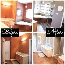 Master Bathroom Makeover Decorating Ideas