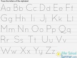 Upper And Lowercase Abc Chart Free Printable Alphabet Tracing Wdwnotjustforkids Com