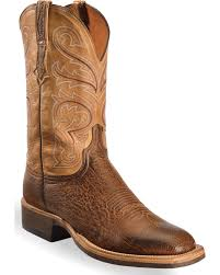 Light Brown Square Boots Lucchese Mens Handmade Light Brown Lance Smooth Ostrich