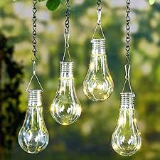 garden light bulbs solar power outdoor bulb nightlight camping hanging pendant lamp home decor lights wedge garden light