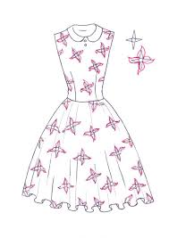 Small Picture How to draw floral print I Draw Fashion