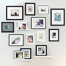 picture frames on wall. Image Of Real Simple® Wall Frame Collection Picture Frames On S