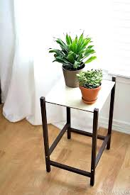 tall skinny plant stand modern thin stands crate and barrel slim
