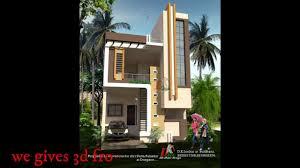 Best Home Design Front View 23x50 Feet Best House Plan Design Home Design Plans 3d