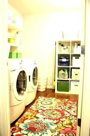laundry room rugs runner braided decorative rug mat