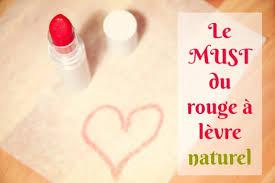 vous avez envie d un rouge à lèvre naturel mais vous ne savez pas quel rouge à lèvre choisir pez vite au rouge à lèvre naturel et bio