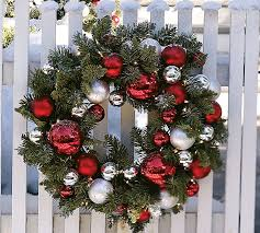 Surprising Decorated Christmas Wreaths Adorable Decorating With Ribbon  Decorations Ideas Image Gallery Collection