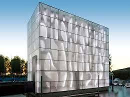 curtain wall glass panel for facades building opaque ice h strukturglas interior design books