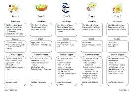 Printable Weekly Dinner Menu Template Free Printable Weekly Meal Plan Planning Pics Menu