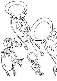 pixar coloring pages pdf free coloring pages coloring pages jellyfish and jellyfish coloring coloring