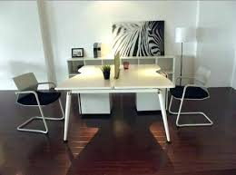 two desk office. Two Person Office Desk 2 L Shaped Computer In Large R