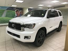 New 2018 Toyota Sequoia 4 Door Sport Utility in Calgary, AB 180363