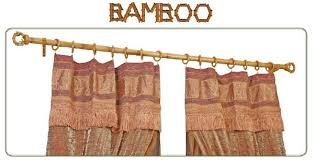 Bamboo Drapery and Curtain Rods