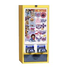 Vending Machine Sticker Refills Fascinating Premier Elite II 48 Column Sticker Vending Machine Tattoo Vendor
