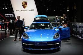 2018 porsche panamera turbo s e hybrid. beautiful porsche 2018 porsche panamera turbo s ehybrid and sport turismo geneva auto show  featured and porsche panamera turbo s e hybrid