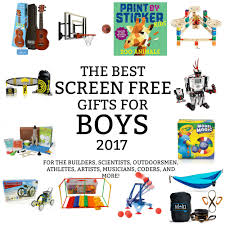 the best screen free gifts for boys 2017