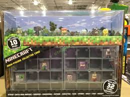 Case Piccole Minecraft : Minecraft collector case with figures costcochaser