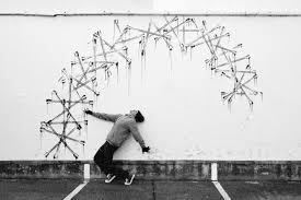 Robin Rhode, arte urbano en compromiso con la generación posapartheid