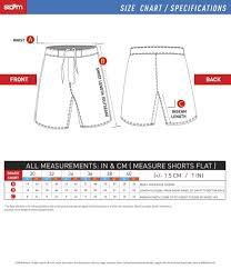 Storm Training Short Size Chart Storm Kimonos