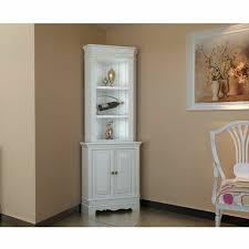 corner cabinet living room furniture. corner display cabinet wooden shelf shabby chic unit white living room furniture r