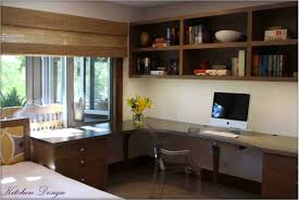home office office decorating small. Contemporary Ideas Home Office Desk Built In Designs Decorating Small
