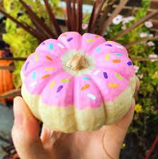 no carve donut pumpkin for
