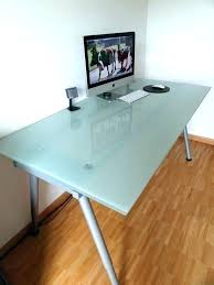 ikea glass table tops glass desk design space glass desk top glass desk glass table top