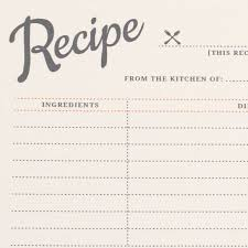 card recipe free printable vintage recipe cards love vs design