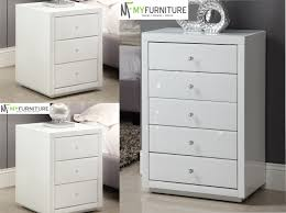 white glass furniture. White Glass Bedroom Furniture Mirrored Cheap G