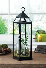 tall black lantern wholesale at koehler home decor