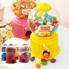 Jelly Bean Vending Machine Magnificent Behokic Jelly Beans Sugar Snack Dispenser Coin Bank Storage Box