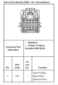according silverado test light a 03 06 tow extendable mirror graphic