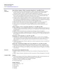 Chemical Engineering Resume Objectives Example Roller Coaster Design