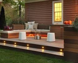 Backyard Decking Designs Magnificent 48 Best Small Deck Ideas Decorating Remodel Photos Lighting