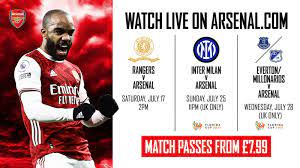 Watch Rangers v Arsenal Live on Arsenal ...