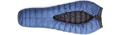 "Traditional sleeping bag vs quilts.   High Sierra Topix & Image. "" Adamdwight.com"