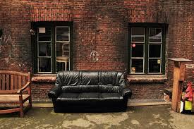 Comfy Black Leather Sofa by johnglennrecords on DeviantArt