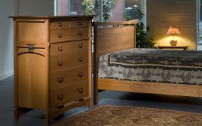 Asian style handmade bedroom furniture New England furniture makers