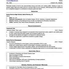 High School Resume Template Writing Tips Resume Companion Within