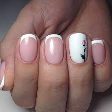 French Tip Nail Design Ideas 50 Awesome French Tip Nails To Bring Another Dimension To
