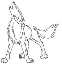 wolf howling drawing anime. Delighful Drawing Free Wolf Howl Line Art By Doomwing  And Howling Drawing Anime W