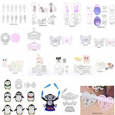 8 X 10 Heart Template Us 1 49 31 Off Cute Animal Human Heart Metal Cutting Dies Stencils For Diy Scrapbooking Decorative Embossing Handcraft Die Cutting Template In