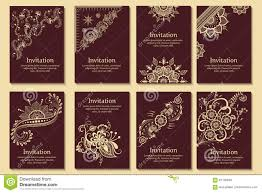 Announcement Cards Wedding Set Of Wedding Invitations And Announcement Cards With