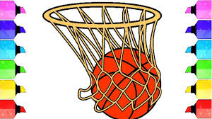 Basketball Drawing Pictures How To Draw A Realistic Basketball Draw A Cute Basketball Easy Draw