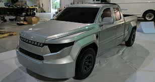 Workhorse Unveils W-15 Electric Pickup Truck made with Composites
