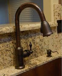 copper sink faucet.  Copper Premier Copper Products KSP2_KA50DB33229 Oil Rubbed Bronze 33 In Sink Faucet K