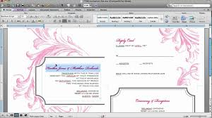 How To Design Invitations In Word How To Customize An Invitation Template In Microsoft Word