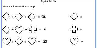 Free Printable Algebra Puzzles Worksheets for all | Download and ...